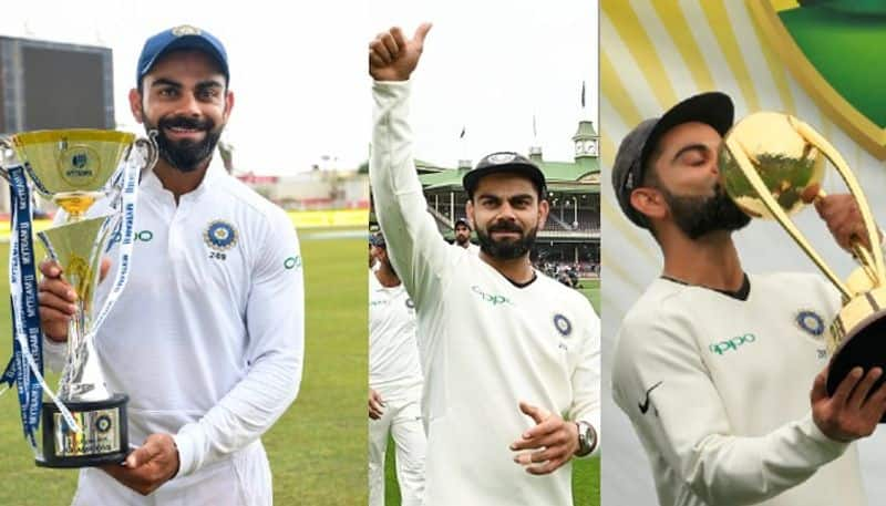 Virat Kohli captaincy is just c in front of your name