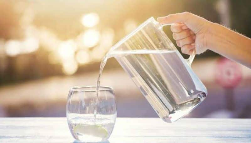 According to the formula know about how much water your body needs throughout a day