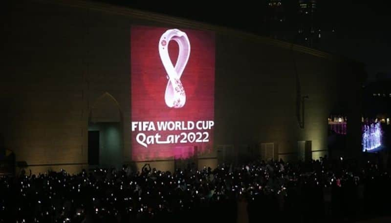 FIFA World Cup Qatar 2022 official emblem unveiled Doha 20 22 local time