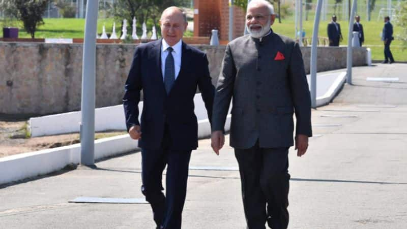PM Modi in Russia meets Malaysian Japanese counterpart to discuss trade bilateral ties