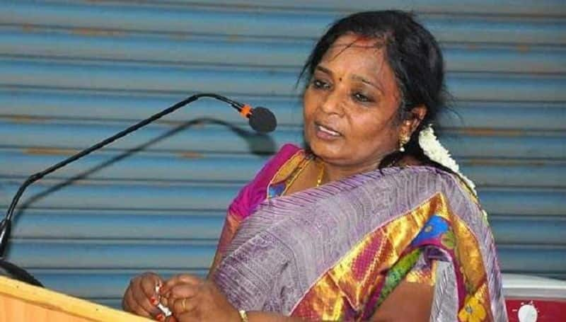 Till Tamilisai is going to be Telugu