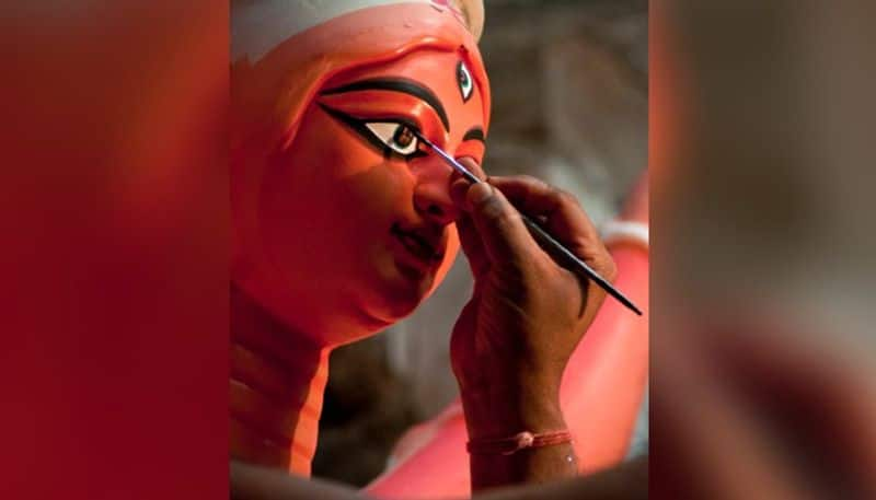Durga Puja theme of Ichlabad Kiran Sangha