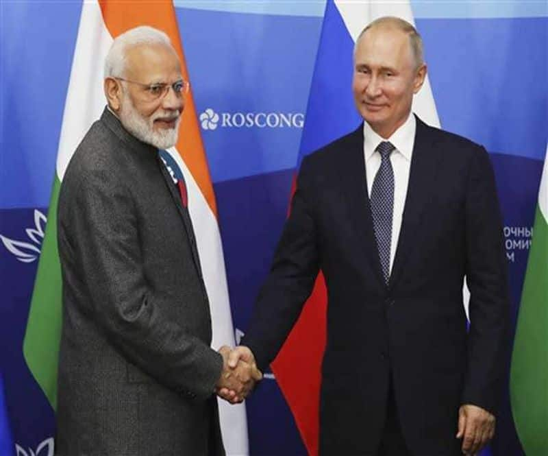 Putin government to honor PM Modi with highest civilian honor today amidst news times of India Russia