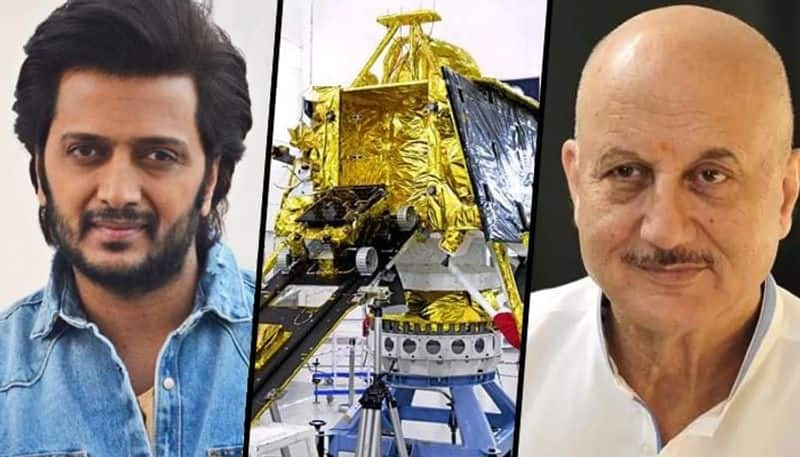 Chandrayaan-2: From Anupam Kher to Riteish Deshmukh, Bollywood reacts to India's space mission