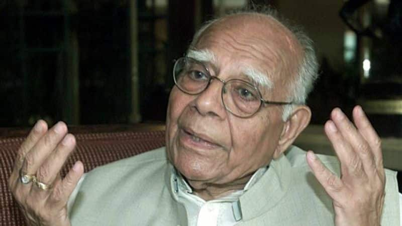 Former law minister and noted lawyer Ram Jethmalani pass away