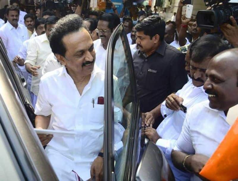 Upset Stalin ... finished the speech in 3 minutes...sekar babu s