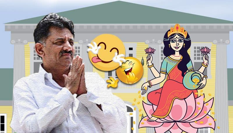 While opening door for Goddess Lakshmi beware of officials sneaking through