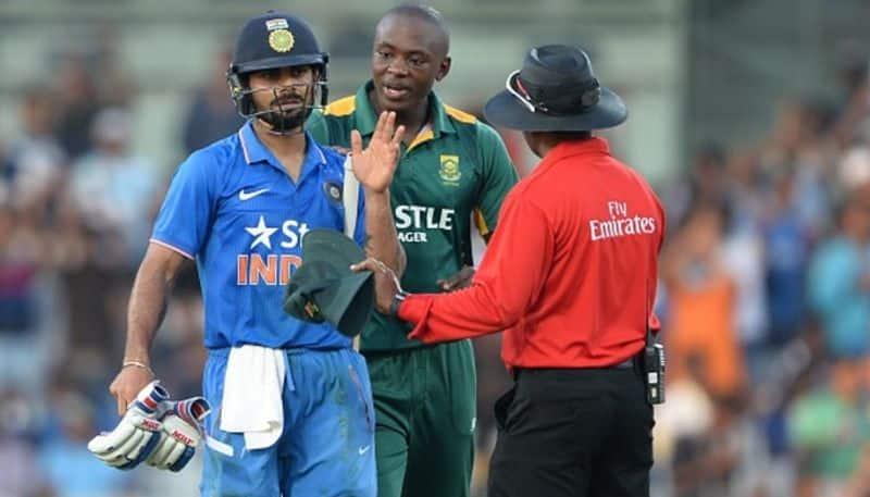 India vs South Africa Kagiso Rabada advice rookies battle Virat Kohli
