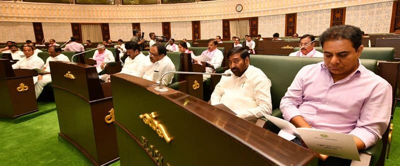 telangana cm kcr presents budget in assembly