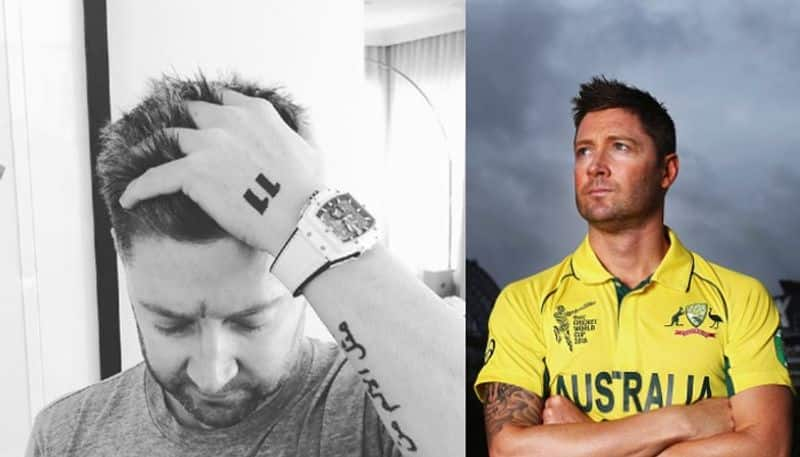 Michael Clarke reveals skin cancer removed from face advises youngsters