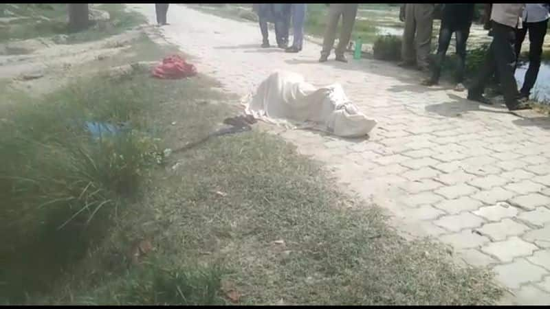 nude dead body of a women recovered from kanpur uttar pradesh