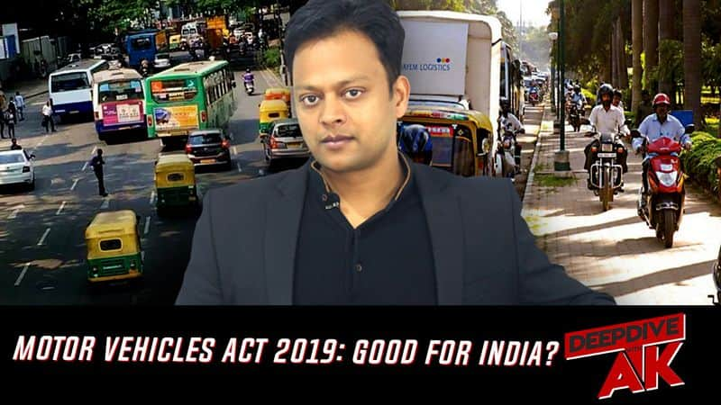 Deep Dive with Abhinav Khare: Steep fines for traffic violation; better be safe than sorry