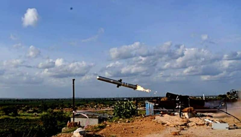 India successfully test fire Man Portable Anti Tank Guided Missile system