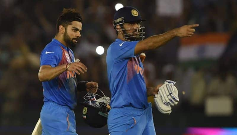 India vs South Africa 1st T20I Virat Kohli praises MS Dhoni clarifies why he posted picture Twitter