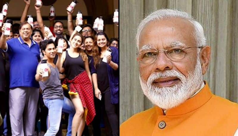 PM Modi hails 'Coolie No 1' team for going plastic-free on sets