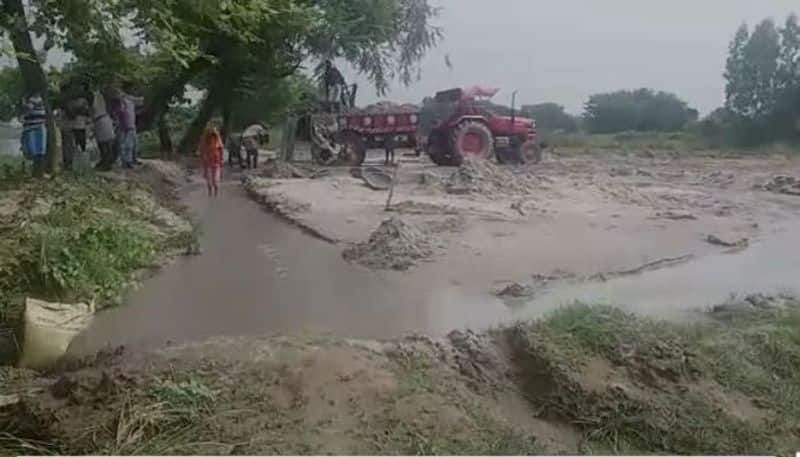 TMC leaders allegedly involved in illegal sand mining in Raiganj