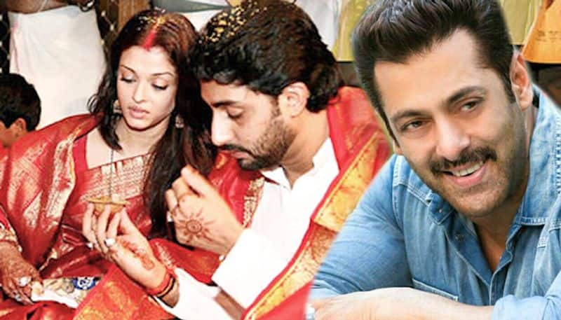 I'm very happy Aishwarya Rai married Abhishek Bachchan, said Salman Kahn; Here is why