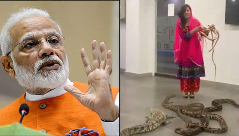 Pakistani singer in legal trouble after threatening PM Modi with snakes, alligators