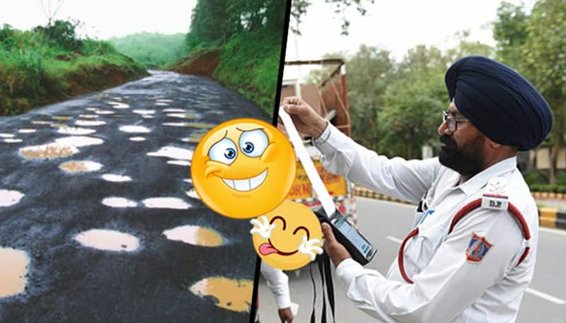 Traffic violation fines: Will engineers be fined for bad roads next?