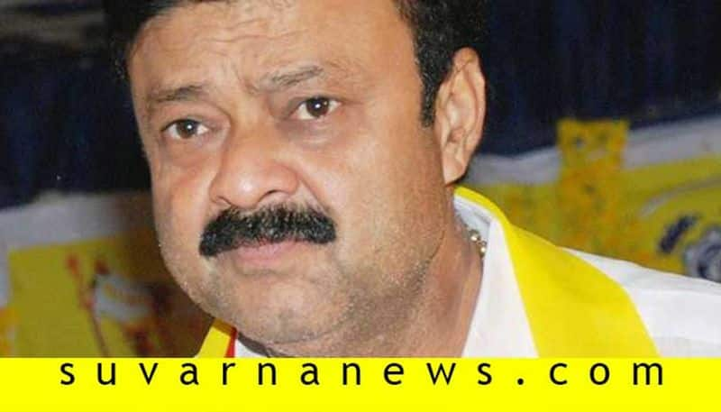 Minister Narayana gowda escape from danger In blast during road work at Mandya