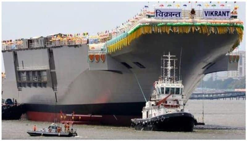2 men engaged for painting job stole 4 hard disks from INS Vikrant, caught, says NIA