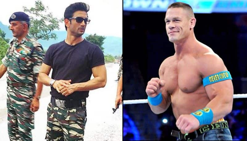John Cena posts Sushant Singh Rajput's picture on Instagram; here is how Bollywood actor, fans reacted