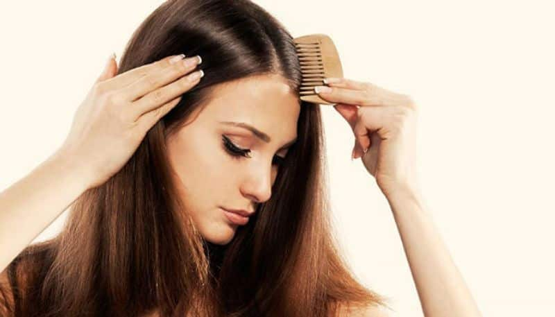 Without shampoo make your hair ready to go out