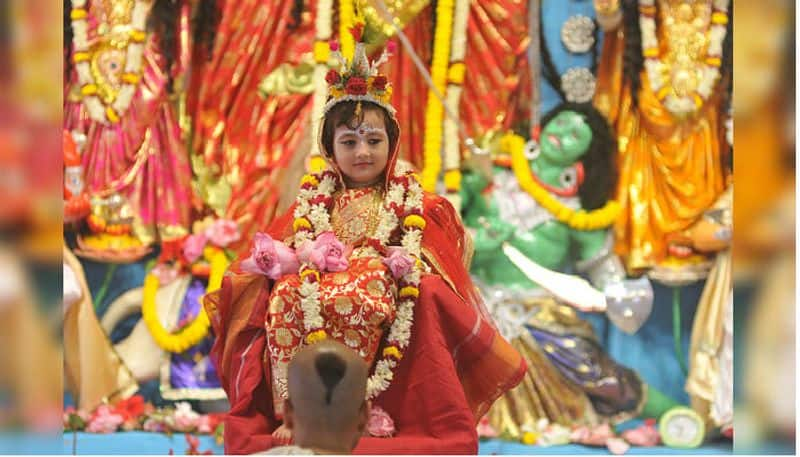 Belur Math change the norms of Kumari Puja due to Covid19 BDD
