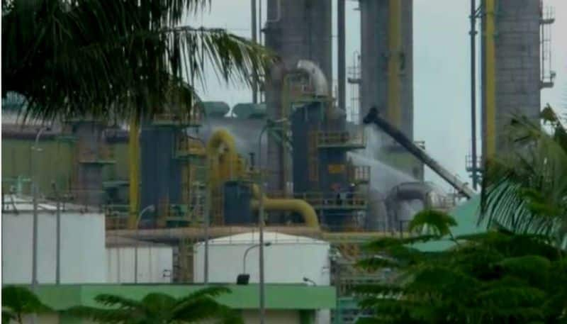 Gas tragedy in Vizag  creates panic among the locals in Haldia
