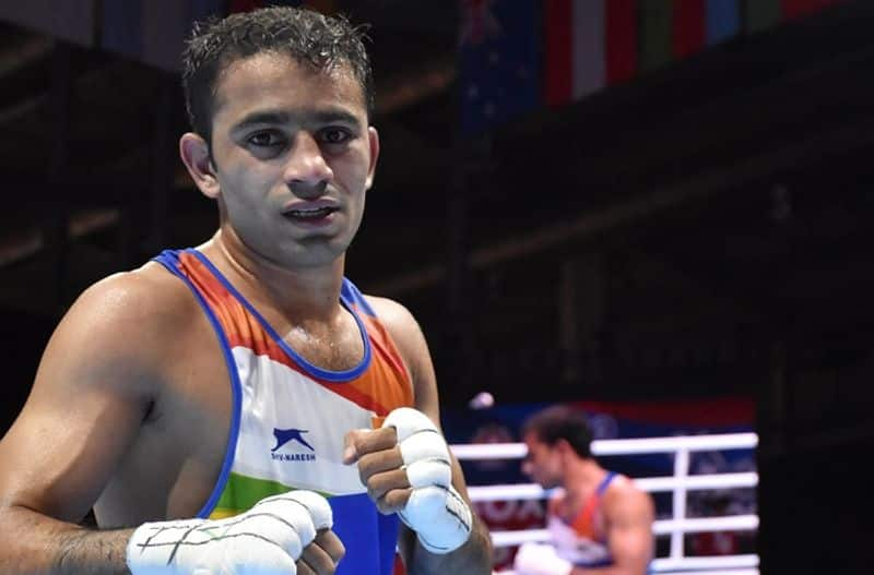 Indian Boxer Amit Panghal eliminated from pre quarter final of Tokyo 2020 Olympics spb