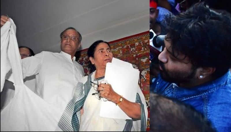 Finance Minister of West Bengal Amit Mitra heckled by SFI once
