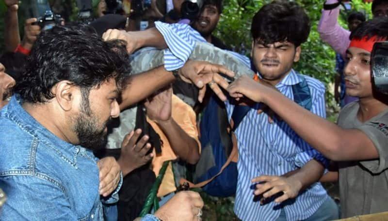 Jadavpur University: AFSU students file complaint against Babul Supriyo