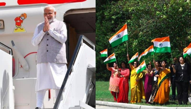 Narendra Modi receives warm welcome by Indian community in Houston