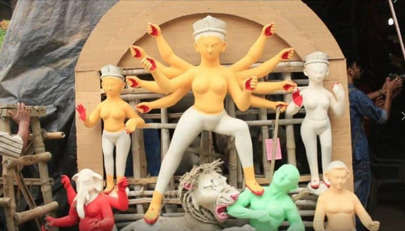 Kumartuli gets its first client  for upcoming Durga puja 2020