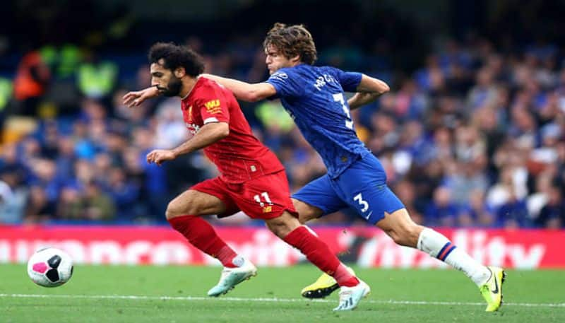 Chelsea lost to liverpool at english premiere league