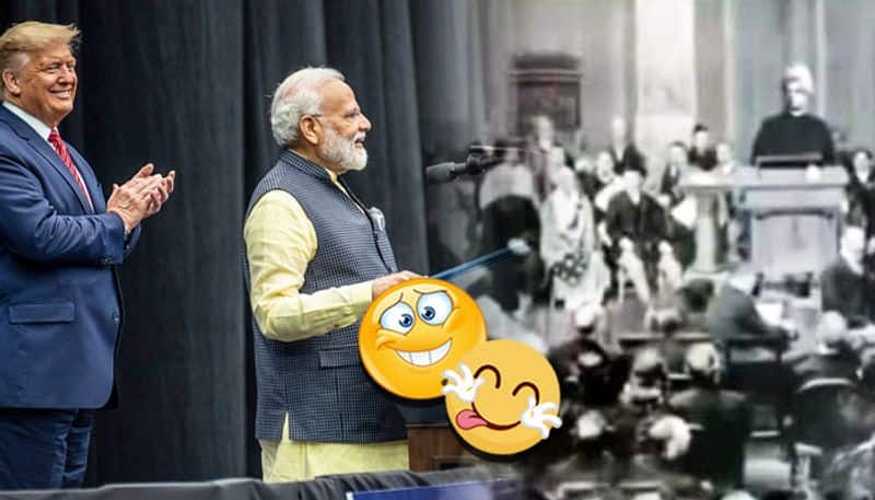 Howdy Modi: Here is how Narendra and Narendra made a mark in the US in 1893 and 2019