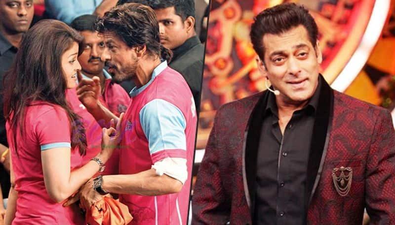 Once Shah Rukh Khan removed Aishwarya Rai from a movie because of Salman Khan