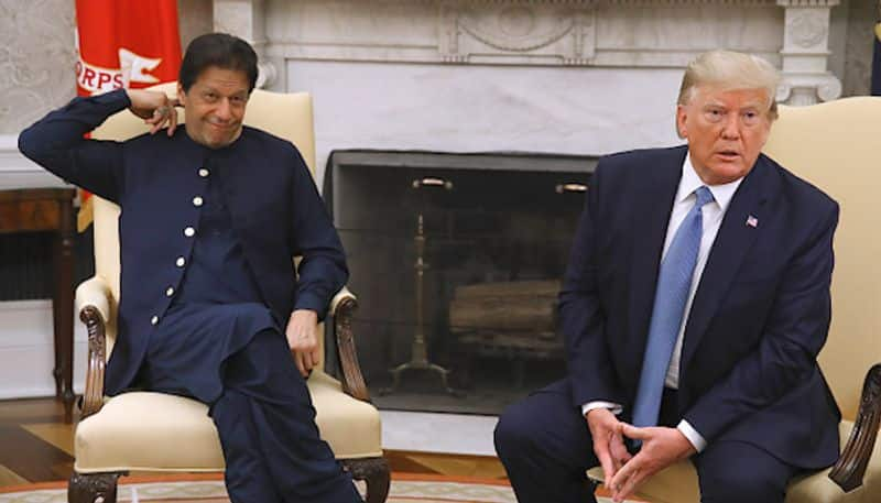 Where do you find reporters like these? Donald Trump questions Imran Khan