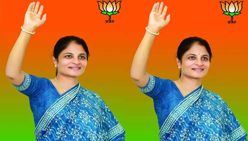 :bjp decides to give ticket srikalareddy to contest from huzurnagar by poll