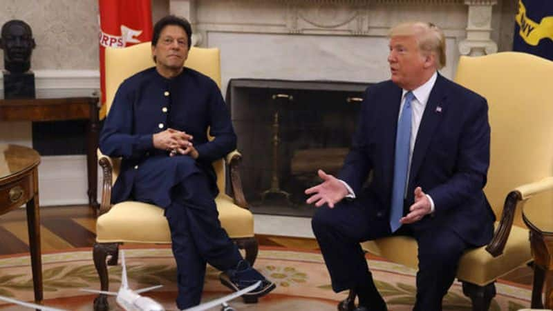 Imran Khan did magic on the trump!