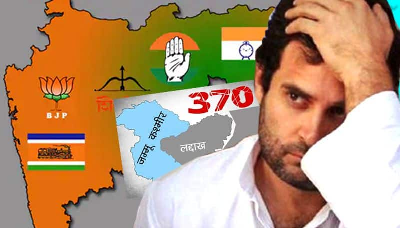 Maharashtra polls: Will Rahul Gandhi's opposition for abrogation cost his party dearly?