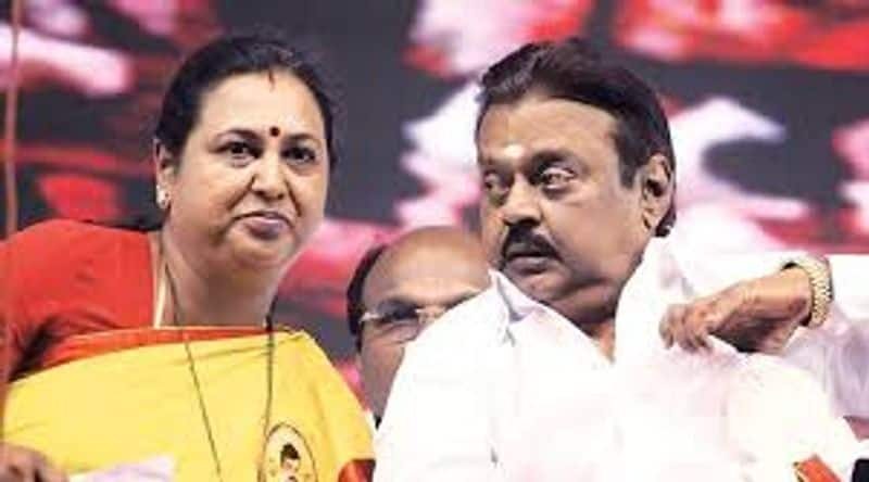 Epss government is saved because of Vijaykanth Premalatha puts fire to a sensational cracker