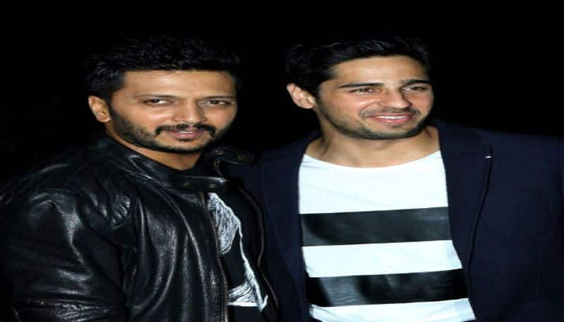 Siddharth and Ritesh again in the same frame,in Marjaavaan