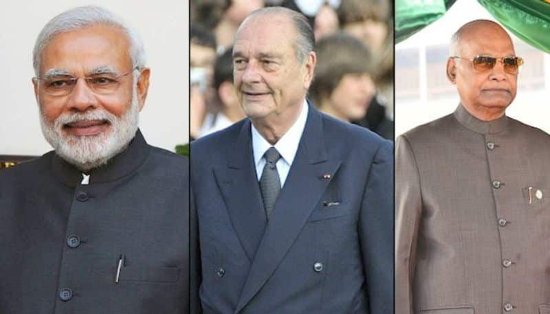 PM Modi expresses grief over demise of former French President Jacques Chirac