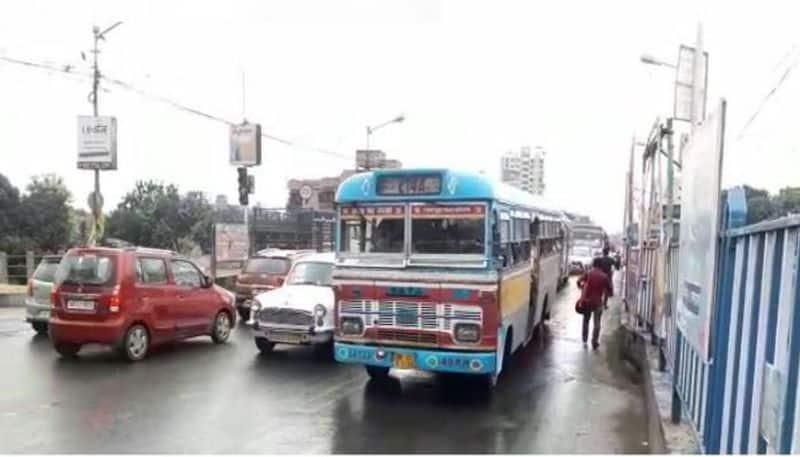 Bus movement restricted on Tala bridge