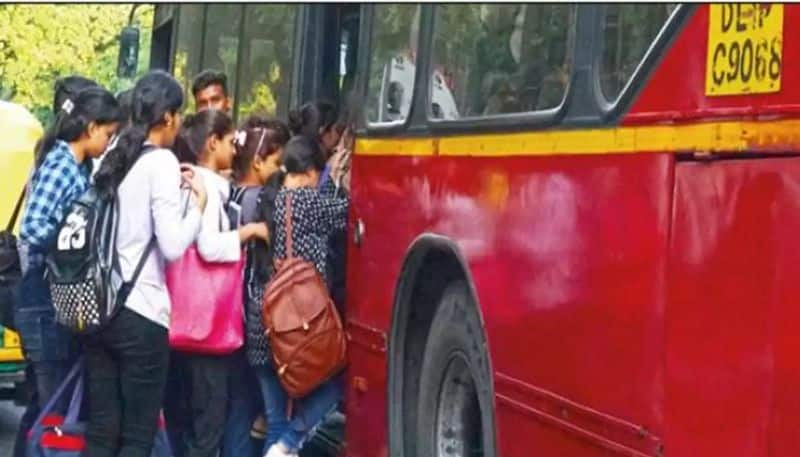 Free bus rides for women starts today in Delhi