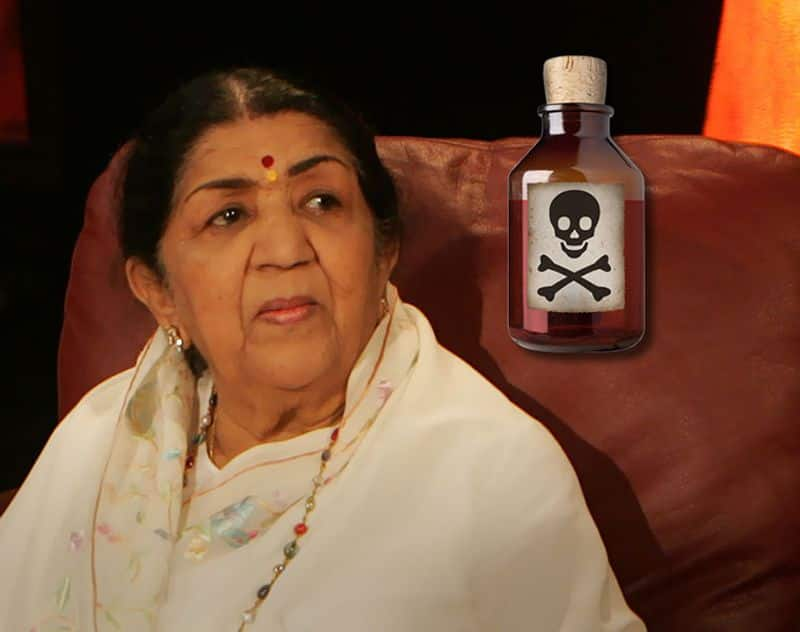 When Lata Mangeshkar was given slow poison for a year, here is the details
