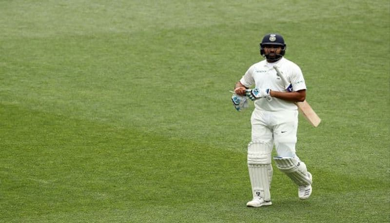 Rohit Sharma dismissed for duck as an opener in the practice match against South Africa