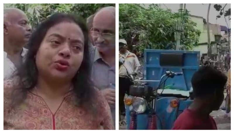 Dengue Sprade At Sovon Chatterjee's word. Wife Ratna come to work