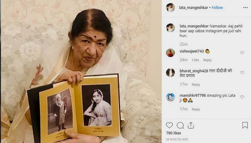 India's nightingale Lata Mangeshkar joins Instagram